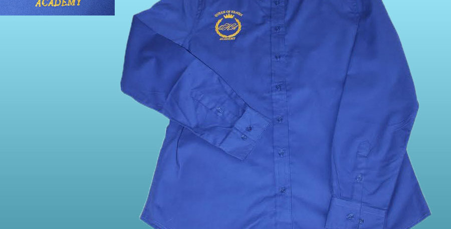 Long Sleeve Port Authority Oxford * Going to Class in Style!