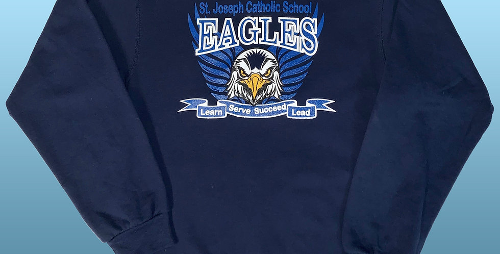 St. Joseph Eagle Pride Spirit NuBlend Sweatshirt!