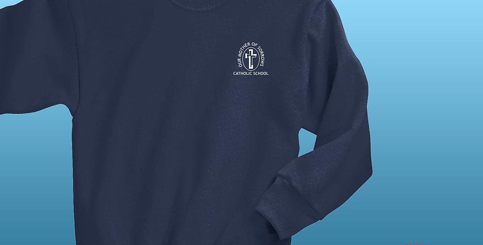 OMOS Awesomely Cozy! Fleece NuBlend Crewneck Sweatshirt