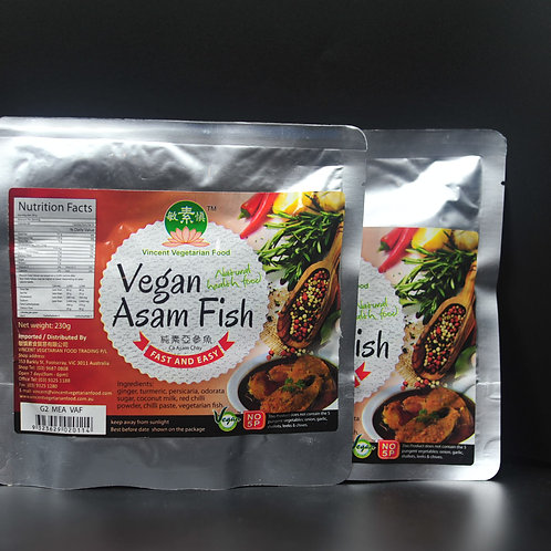 Vegan Asam Fish