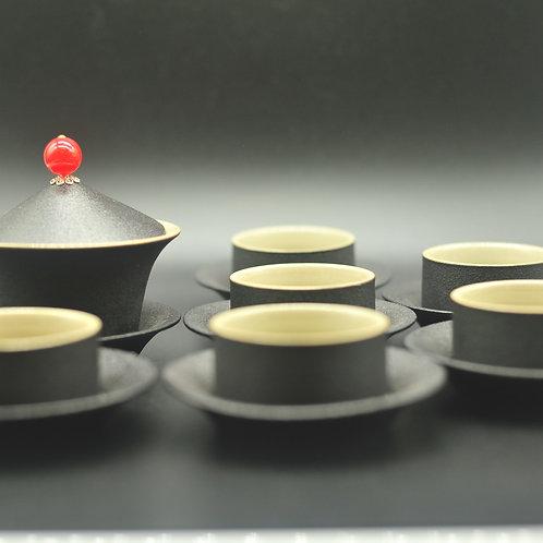 Tea pot and cup 6