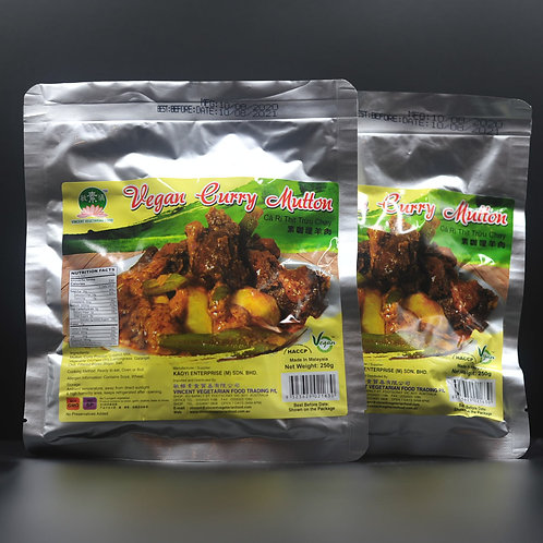 Vegan Curry Mutton