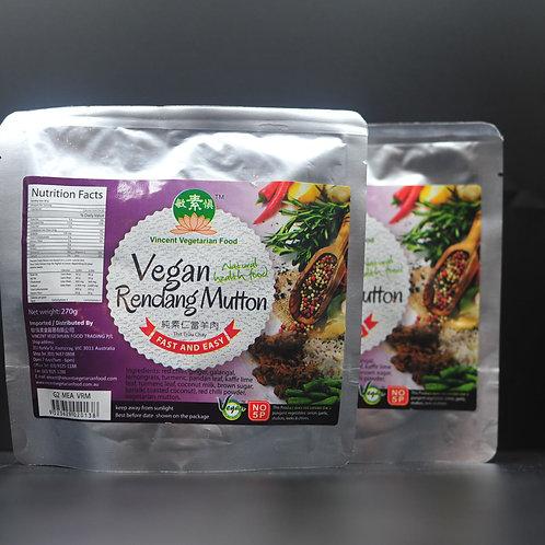 Vegan Rendang Mutton