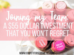 Joining my Team: A $55 Dollar Investment that you won't regret