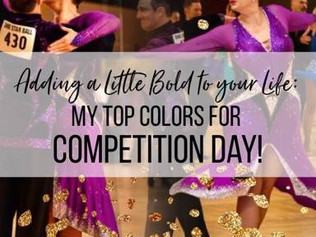 Competitor Cosmetics: My Top Colors for Competition Day.