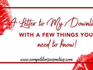 A letter to my Downline with a few things you need to know!