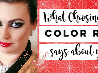 What Choosing the Color Red Says about You!