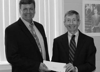 Our Savior Lutheran donates to Evans Home for Children