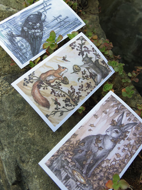 Oak, Ash & Thorn Sticker Pack B