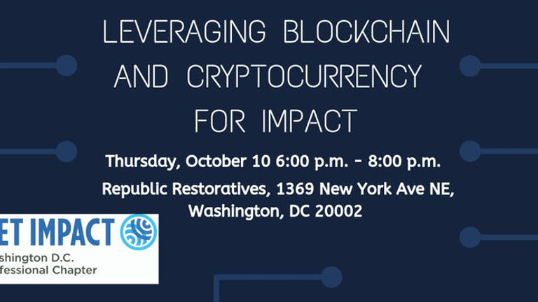 Leveraging Blockchain and Cryptocurrency for Impact