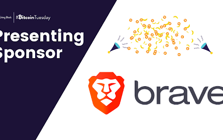 Brave Presenting Sponsor for Bitcoin Tuesday - Giving Tuesday for Crypto by The Giving Block