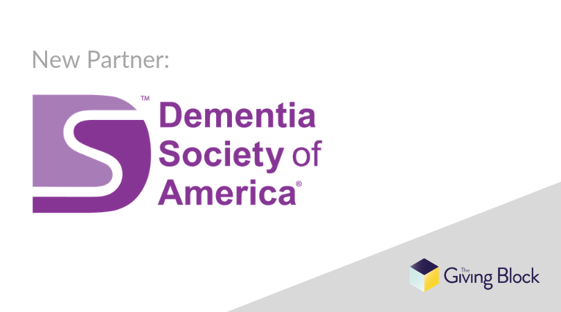 Dementia Society of America Begins Accepting Cryptocurrency