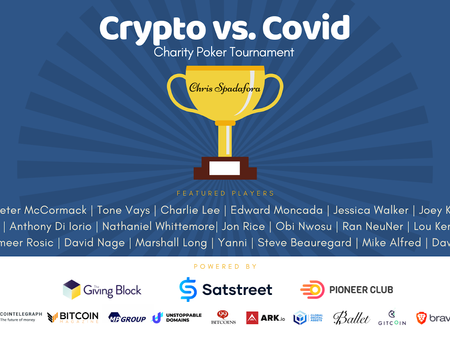 Why The First Crypto vs. Covid Poker Tournament Was A Success