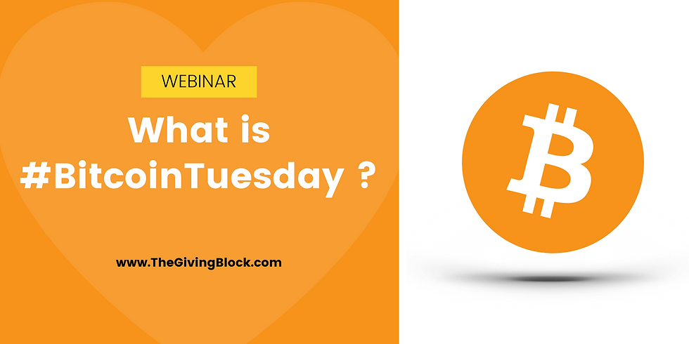 What is #BitcoinTuesday?