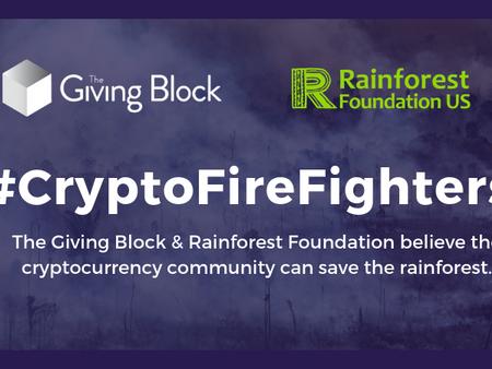The Giving Block & Rainforest Foundation Partner to Defend the Amazon Rainforest