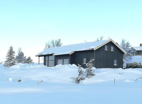 Juleforberedelser på Mykingtoppen 38 - Tomt 39 - Hytte til salgs - Ferdig til sommeren 2020