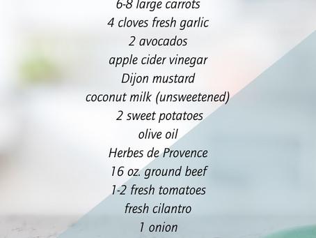 7/23 Virtual Cooking Class Recap