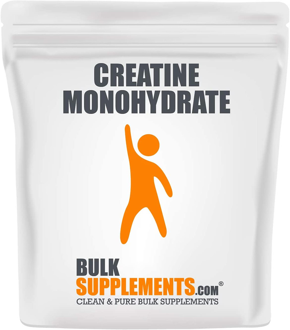Creatine Monohydrate powder from BulkSupplements
