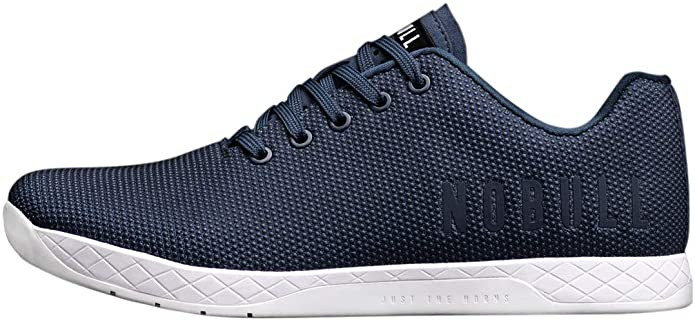 NOBULL training shoes Navy with white soles
