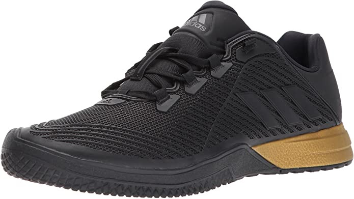 Adidas Crazypower Training Shoe, All black with Gum Sole
