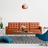 インテリアデザインのリビングルームのソファ