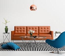 Interior Design Sofa im Wohnzimmer
