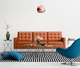 sofá de diseño de interiores sala de est