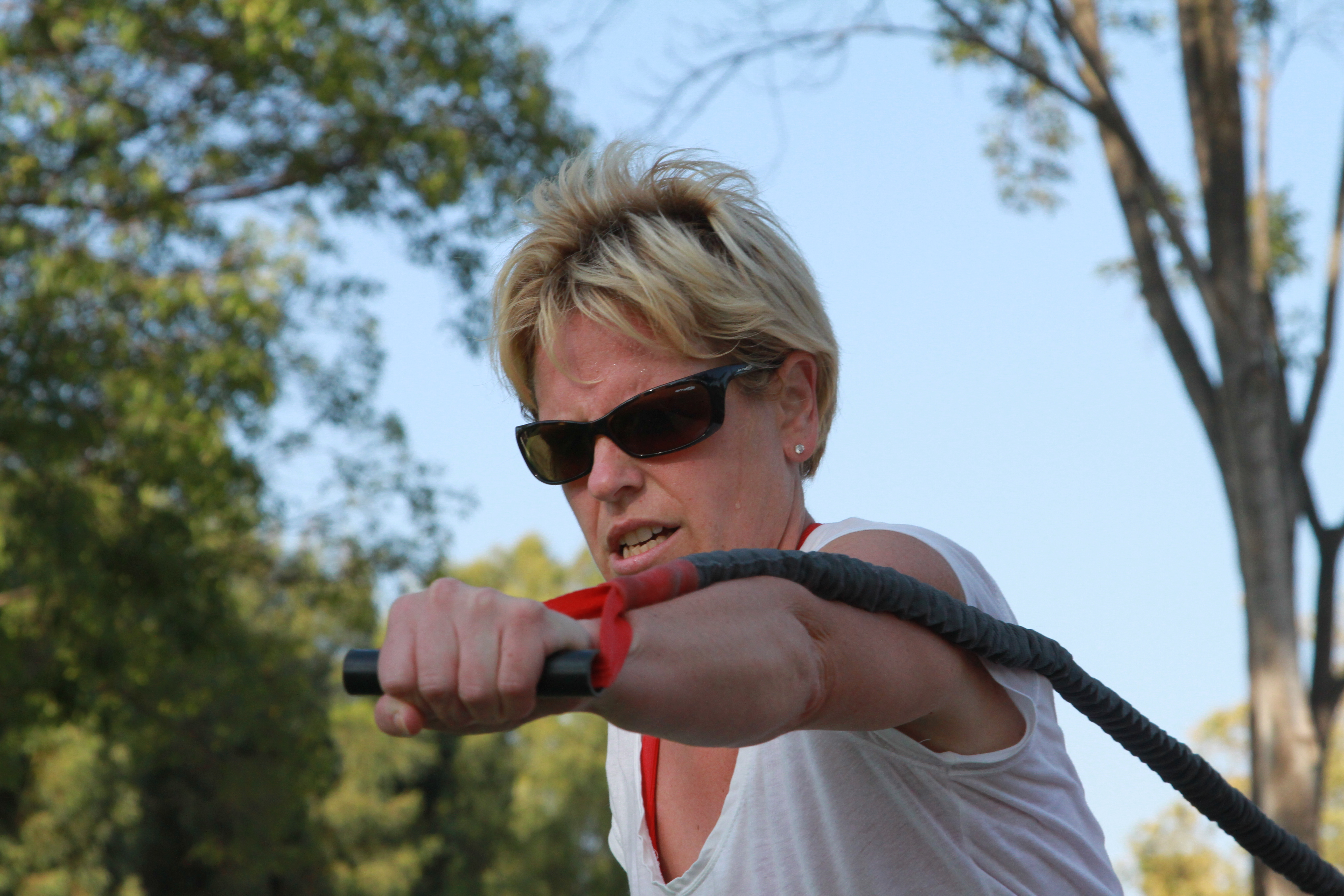 Shauna: Even in Tough times I train