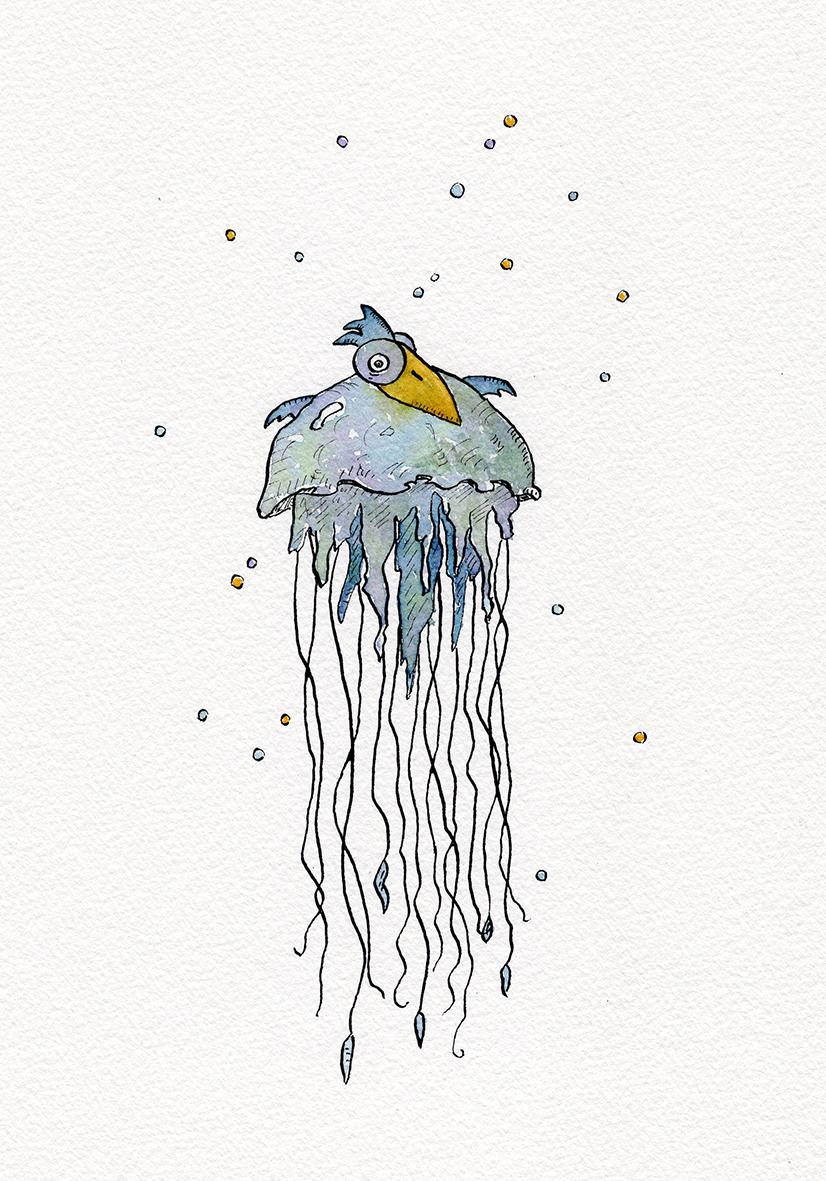 Piaf méduse