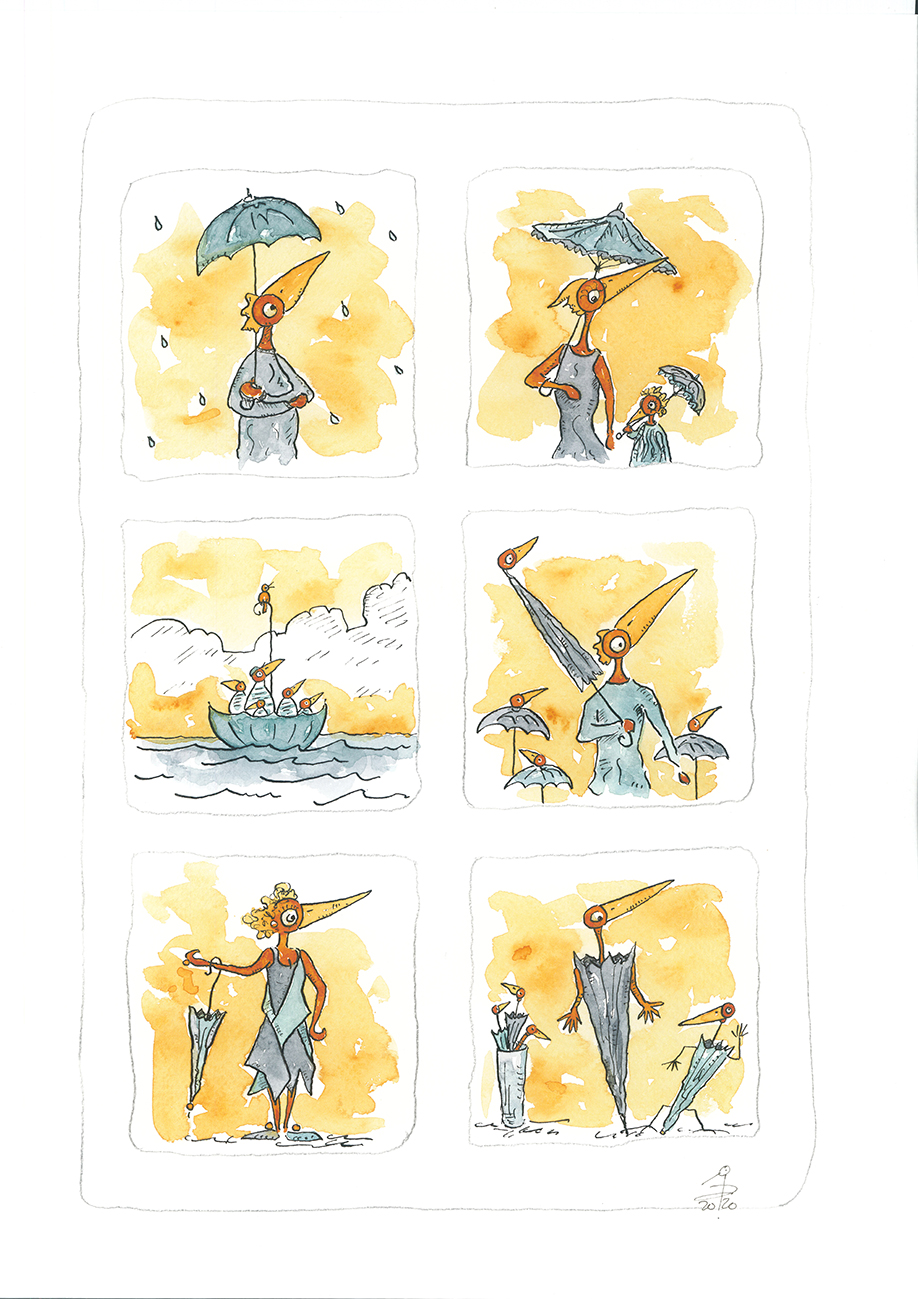 Fenêtre Parapluie