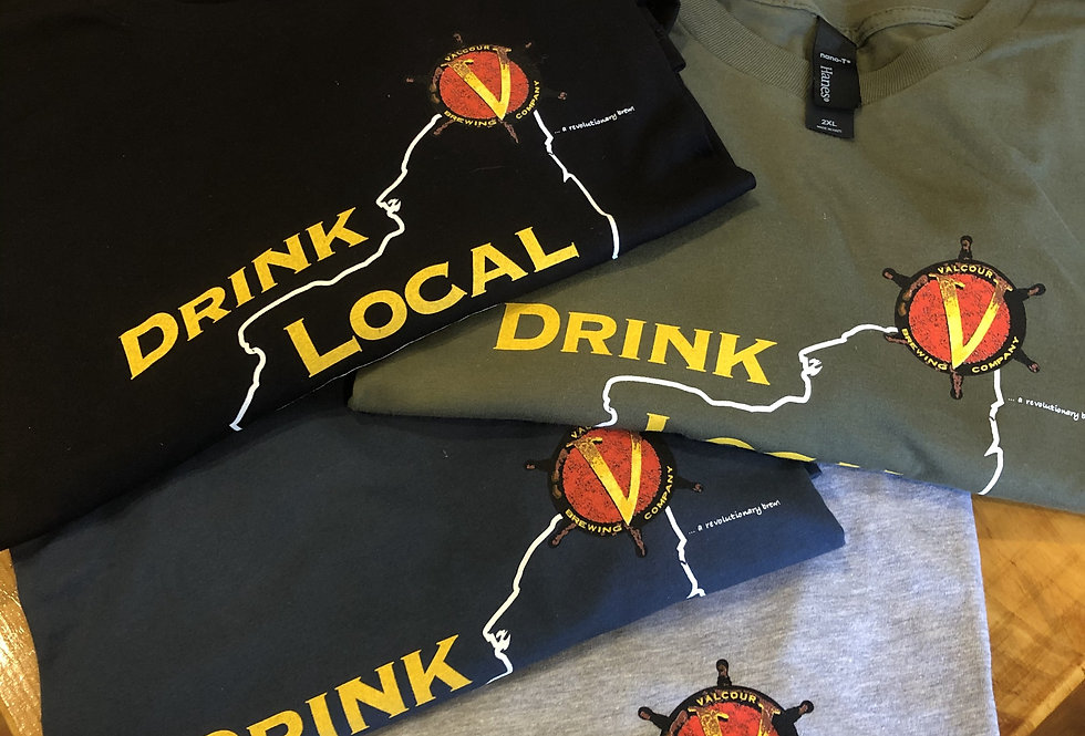 Men's Drink Local Short Sleeve Shirt
