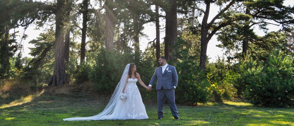 Wedding Photos in Backwoods