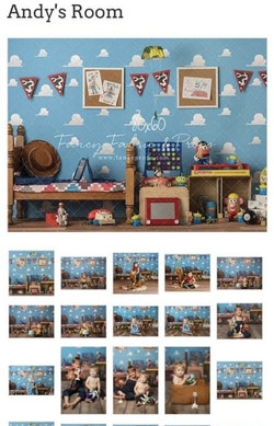 Toy Story-Andy's Room