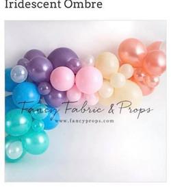 Pastel Rainbow Balloons