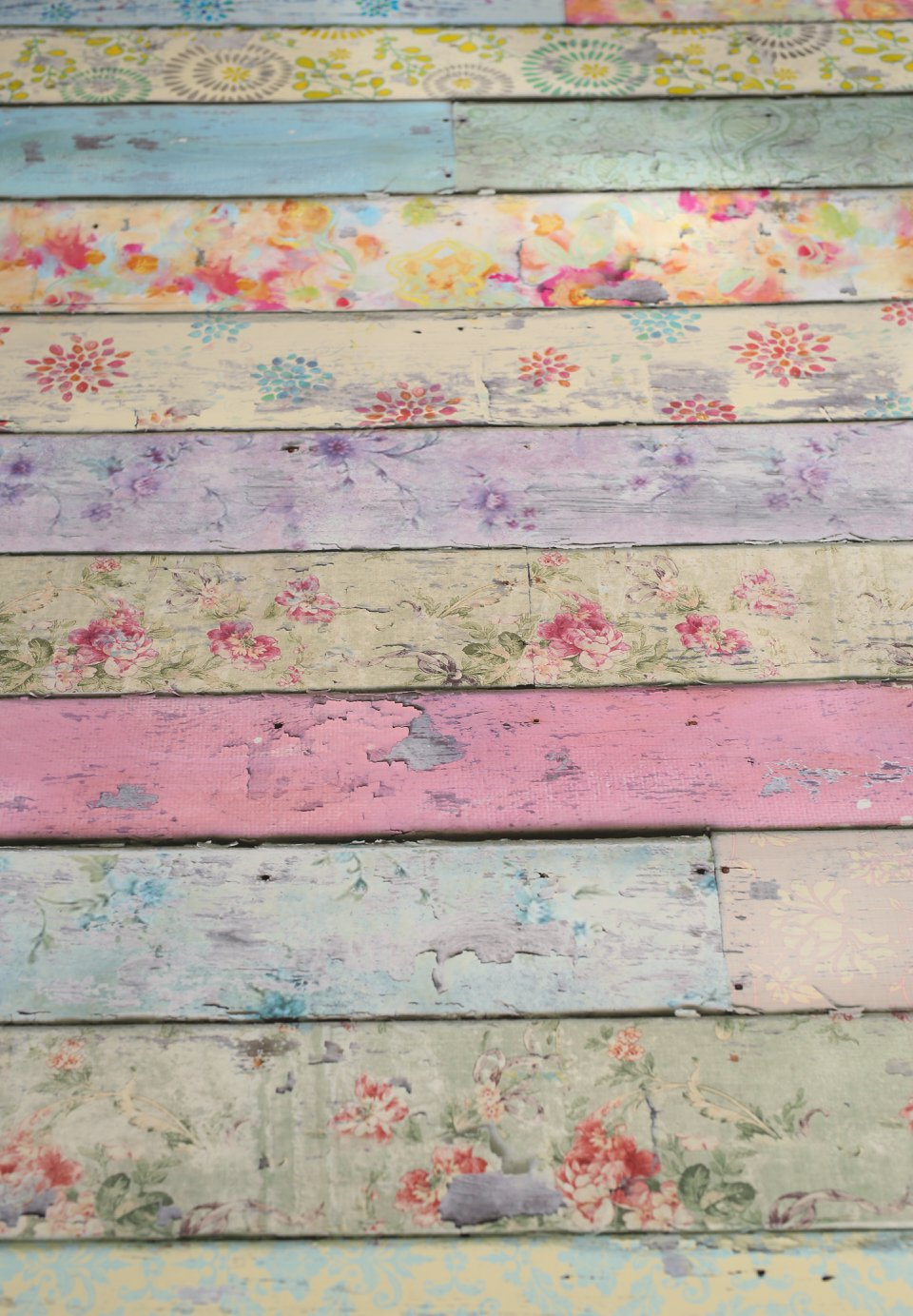 Pastel Planks