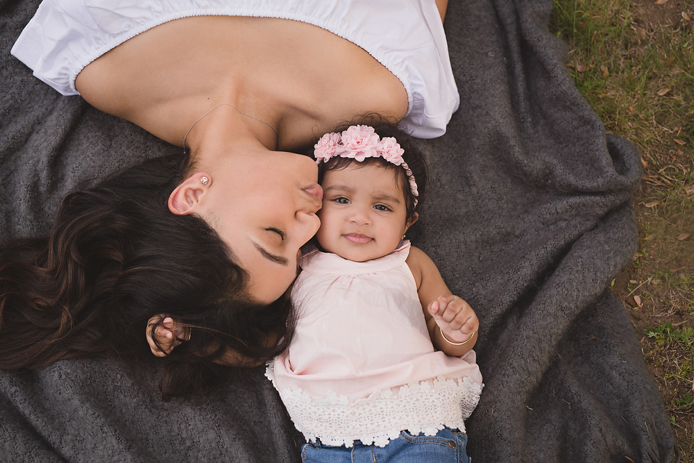 Mother Daughter Professional Pictures