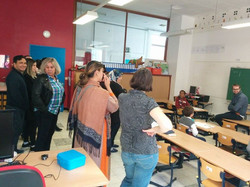 Belangstelling in de klas van de KAAP ouders!!