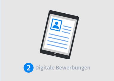 digitale bewerbung