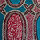 Thumbnail: Blue pink flower print WAXBLOCK