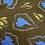 Thumbnail: leaves & flowers print JAVA VINTAGE