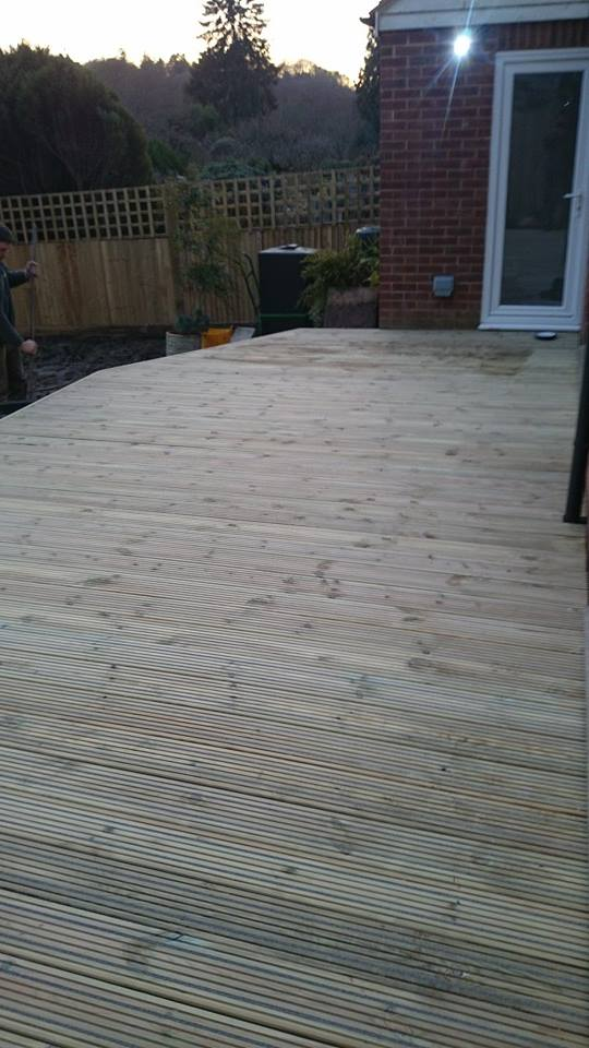Decking Gripdeck installation