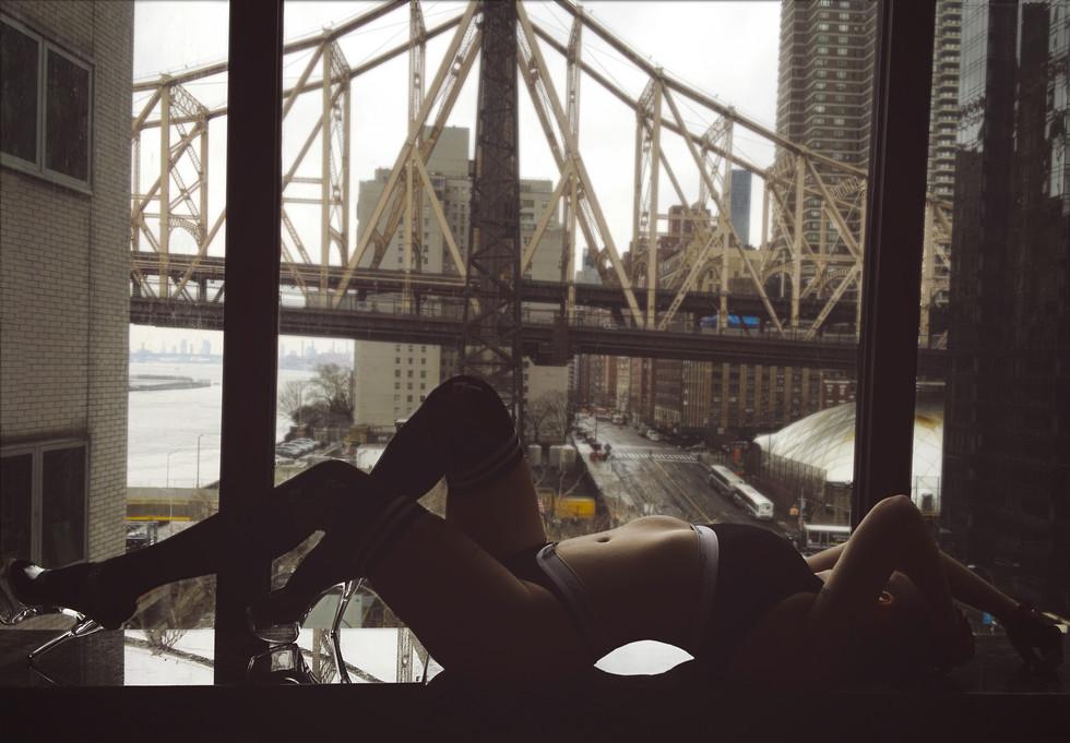 bridge view, calvin klein