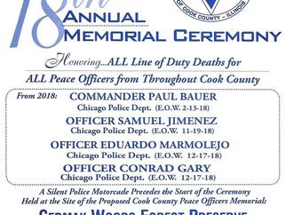 2019 Annual Memorial Ceremony
