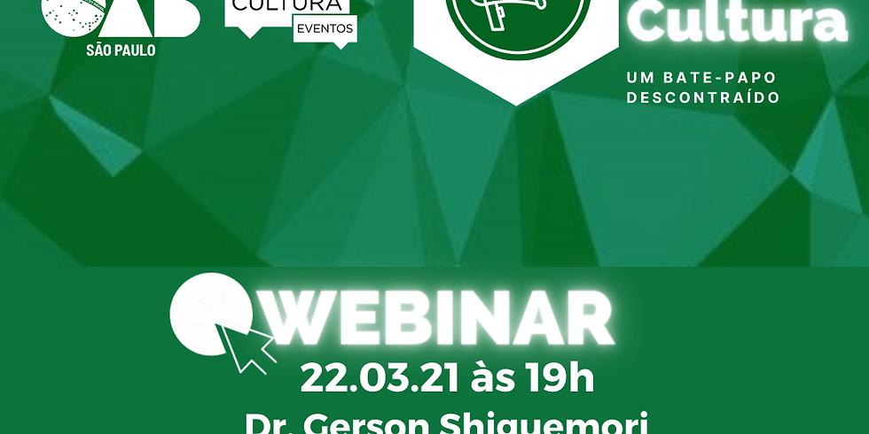 22.03.21 às 19h - Dr. Gerson Shiguemori