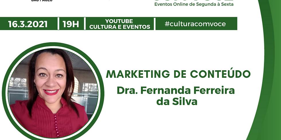 16.03.21 às 19h - Dra. Fernanda Ferreira da Silva