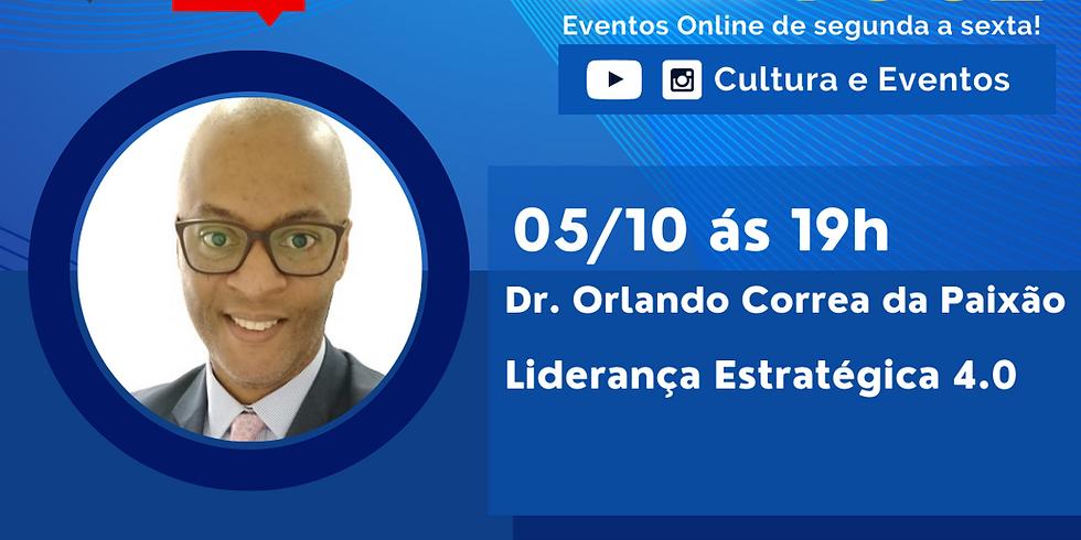 05.10.2020 às 19h | Palestra Online - Dr. Orlando Correia da Paixão