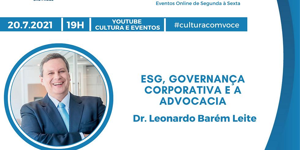 20.7.21 às 19h - Dr. Leonardo Barém Leite