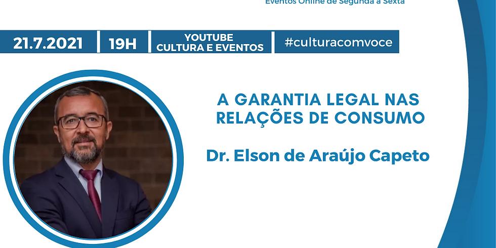 21.7.21 às 19h - Dr. Elson de Araújo Capeto