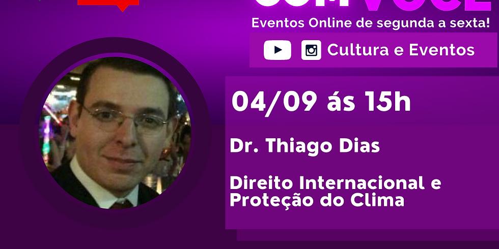 04.09.2020 às 15h   Palestra Online - Dr. Thiago Dias