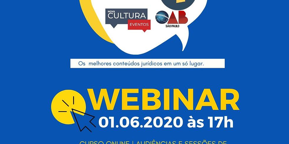 Curso Online - Audiências e Sessões de Julgamento Telepresenciais